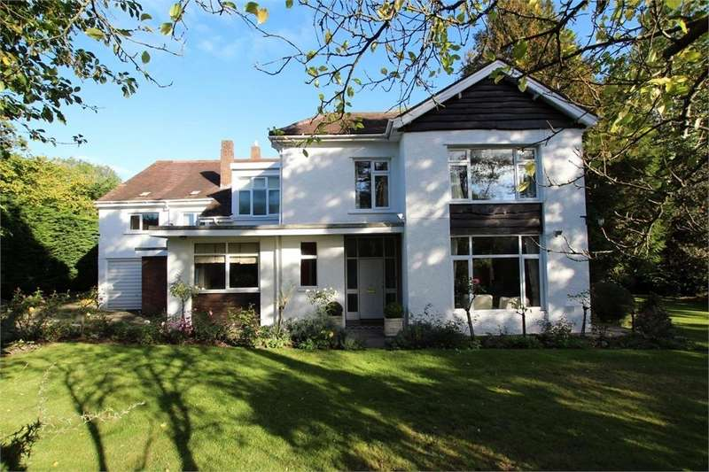 6 Bedrooms Detached House for sale in Hollybush Road (without plot), Cyncoed, Cardiff