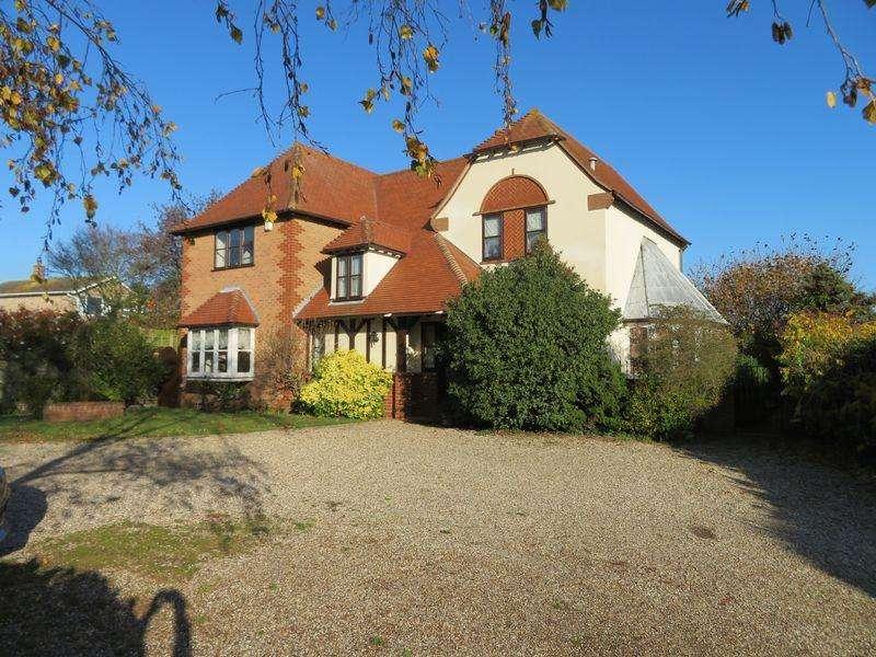 4 Bedrooms Detached House for sale in Cross Lane, West Mersea