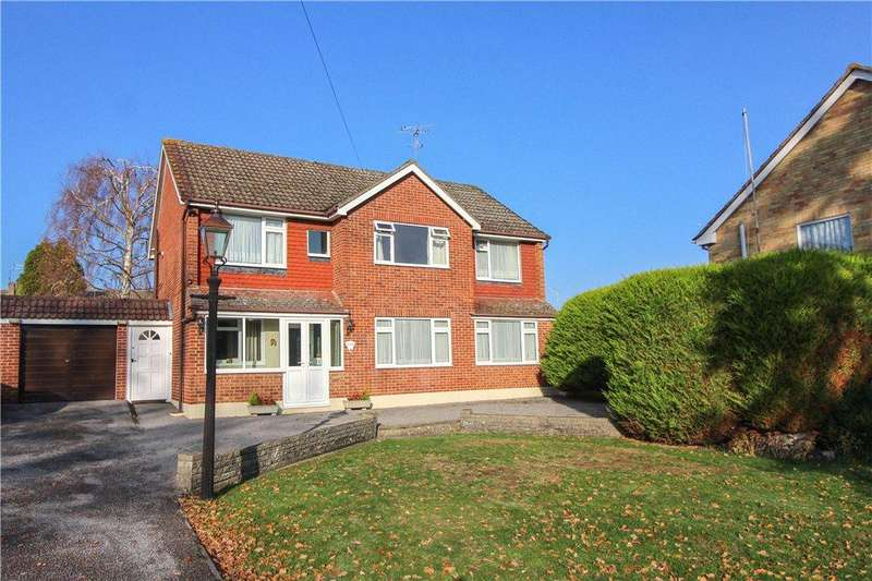 5 Bedrooms Detached House for sale in Manor Park Drive, Yateley, Hampshire, GU46