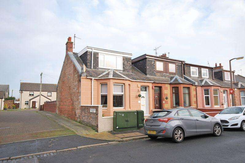 2 Bedrooms End Of Terrace House for sale in 1 Bellesleyhill Road, Ayr, KA8 9BL