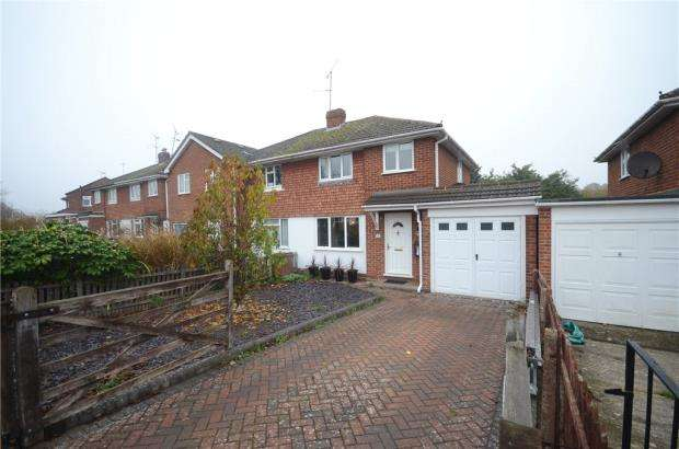 3 Bedrooms Semi Detached House for sale in Cartmel Drive, Woodley, Reading
