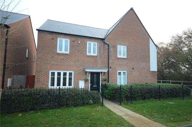 3 Bedrooms Semi Detached House for sale in William Heelas Way, Wokingham, Berkshire