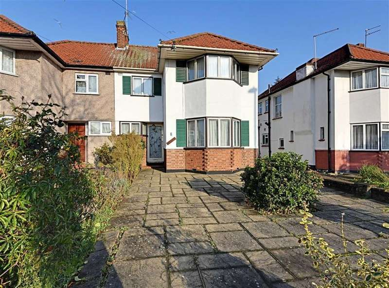 3 Bedrooms Semi Detached House for sale in Devonshire Road, Mill Hill, London, NW7