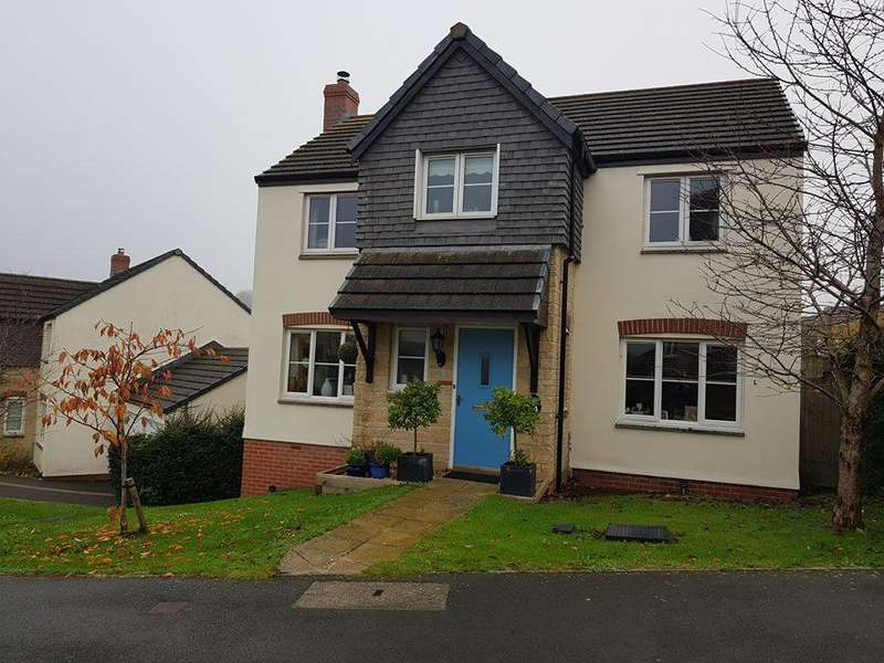 4 Bedrooms Detached House for sale in Cherry Tree Road, Axminster