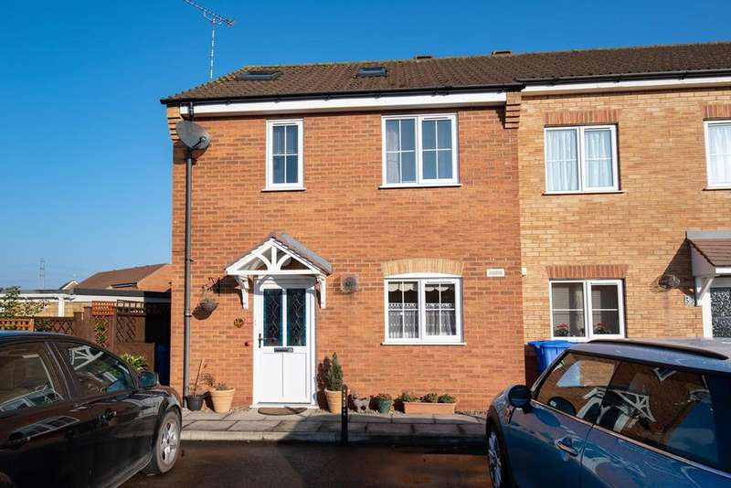 3 Bedrooms End Of Terrace House for sale in Saddlers Way, Fishtoft, Boston, PE21