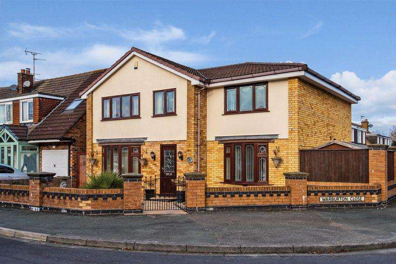 4 Bedrooms Detached House for sale in Bollin Drive, Lymm
