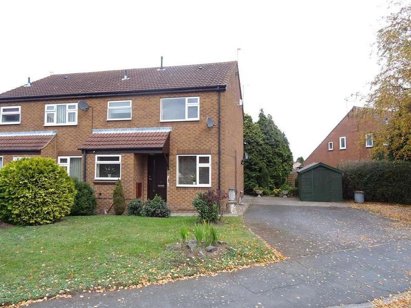 1 Bedroom Maisonette Flat for sale in Quantock Rise, Shepshed, Leicestershire
