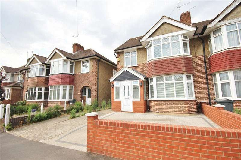 4 Bedrooms Semi Detached House for sale in Whitton Dene, Hounslow, TW3