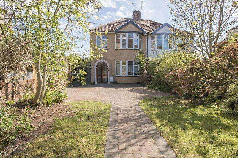 3 Bedrooms Semi Detached House for sale in Speedwell Road, Bristol