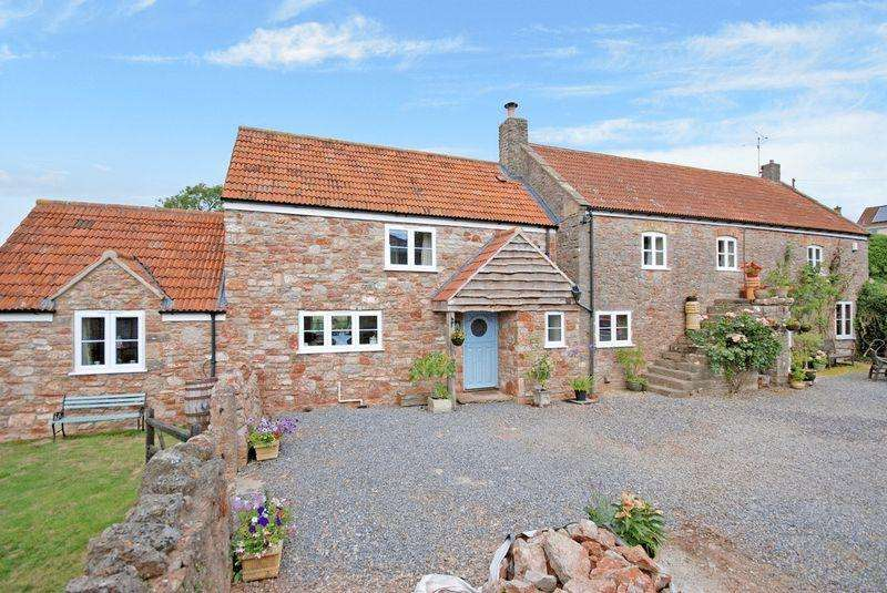 4 Bedrooms Detached House for sale in Draycott, Between Wedmore, Cheddar Wells