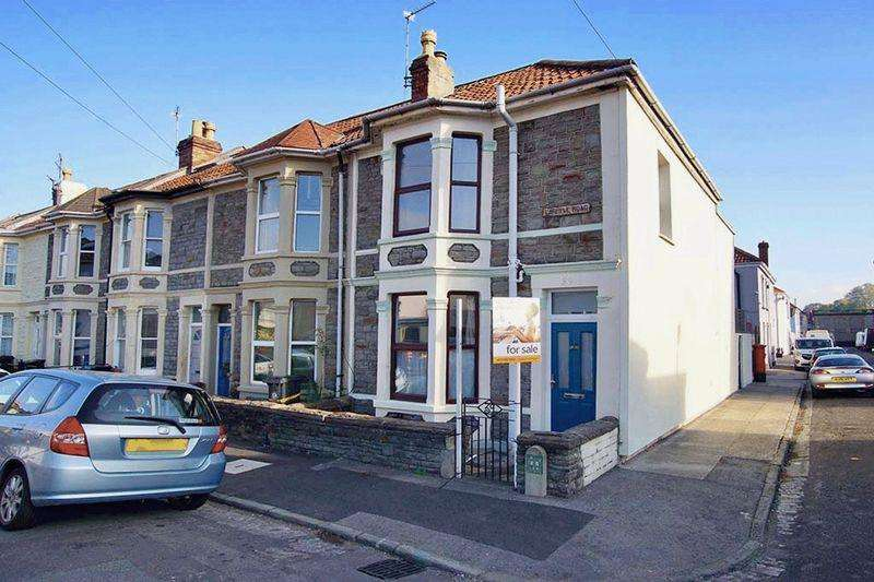 3 Bedrooms End Of Terrace House for sale in Carlyle Road, Greenbank, Bristol, BS5 6HG