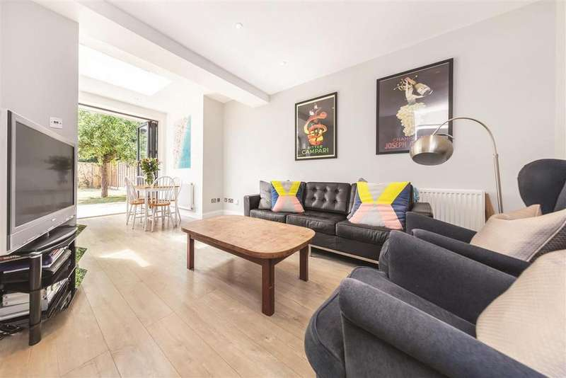 3 Bedrooms Terraced House for sale in Clarence Crescent, SW4
