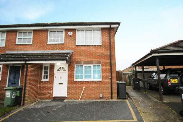 3 Bedrooms Semi Detached House for sale in Whitwell Close, Luton, Bedfordshire, LU3 4BT