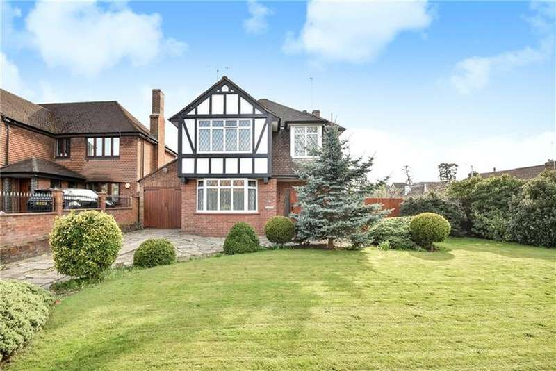 4 Bedrooms Detached House for sale in Fairfield Road, Uxbridge, Middlesex, UB8