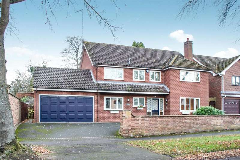 4 Bedrooms Detached House for sale in Cloister Crofts, Leamington Spa