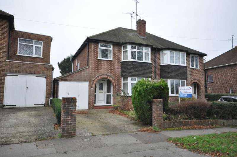 3 Bedrooms Semi Detached House for sale in London Road, Earley, Reading, RG6 1AJ