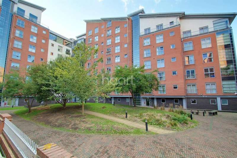 2 Bedrooms Flat for sale in Burgess House, Leicester City Centre