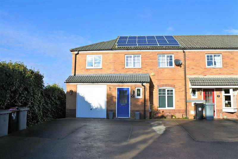 4 Bedrooms End Of Terrace House for sale in Kedleston Road, Grantham