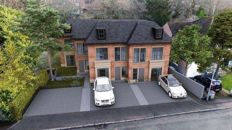 3 Bedrooms Semi Detached House for sale in Three superb new houses in the town centre