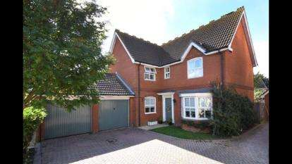 4 Bedrooms Detached House for sale in Brandon Groves, South Ockendon, Essex