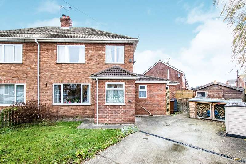 3 Bedrooms Semi Detached House for sale in St. Margarets Gardens, Lincoln, LN6