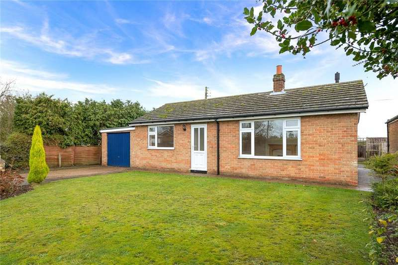 2 Bedrooms Detached Bungalow for sale in Eastfield, Bassingham, Lincoln, Lincolnshire, LN5