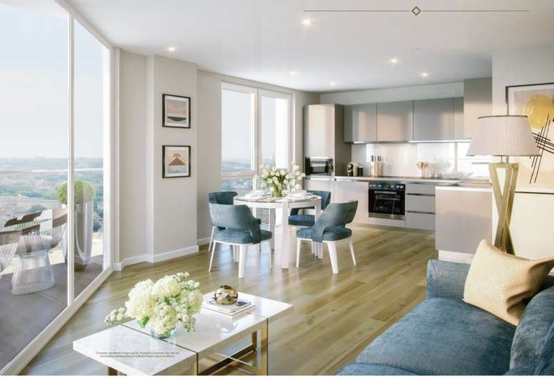 1 Bedroom Apartment Flat for sale in Brook House, Brixton Centric, Brixton, SW2