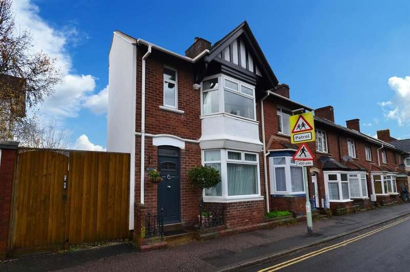 4 Bedrooms End Of Terrace House for sale in Chudleigh Road, Exeter, EX2 8TU