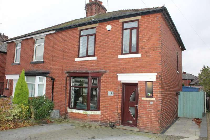 3 Bedrooms Semi Detached House for sale in Hartley Street, Passmonds, Rochdale