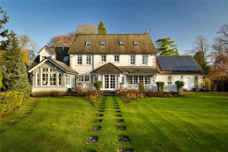 6 Bedrooms Detached House for sale in Ewanfield House, Ewanfield, Crieff, Perthshire, PH7