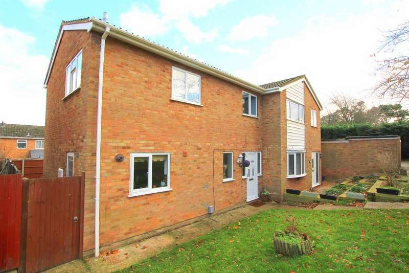 3 Bedrooms Semi Detached House for sale in Falcon Crescent, Flitwick, Bedfordshire, MK45 1LY