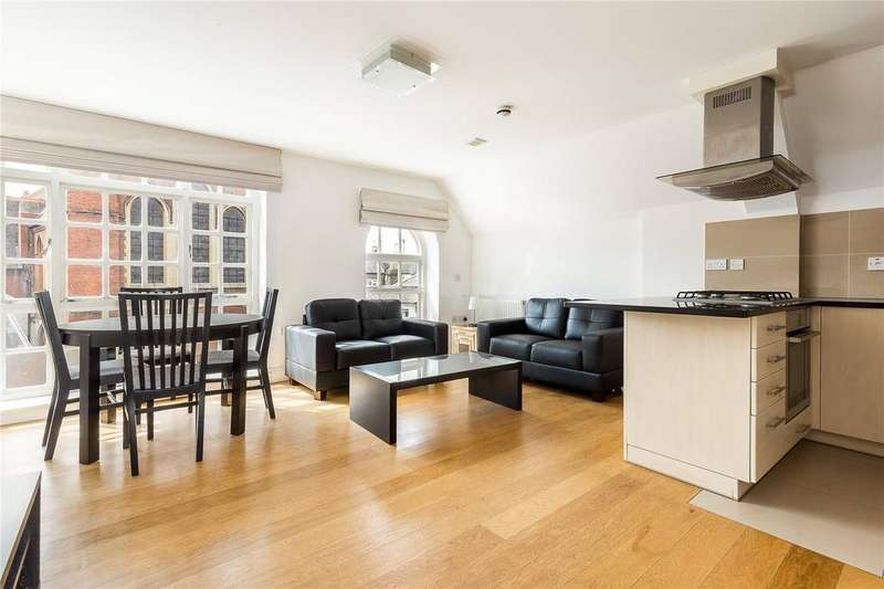 2 Bedrooms Flat for sale in Church Court, Dalling Road, London, W6