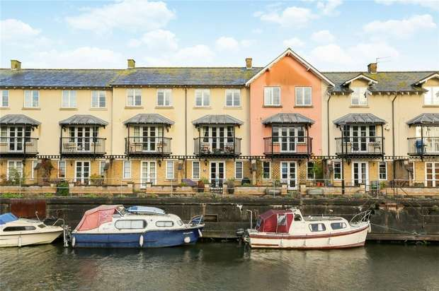 4 Bedrooms Terraced House for sale in Pooles Wharf Court, Bristol