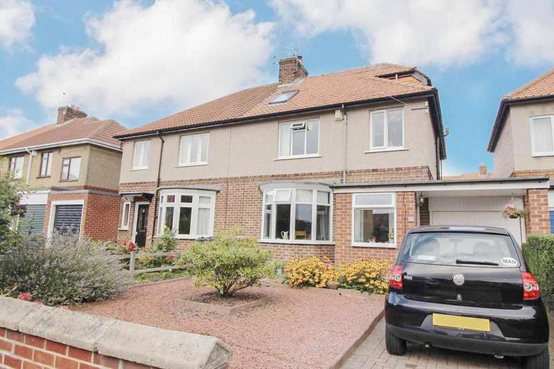 4 Bedrooms Semi Detached House for sale in Manor Road, Newcastle-upon-Tyne