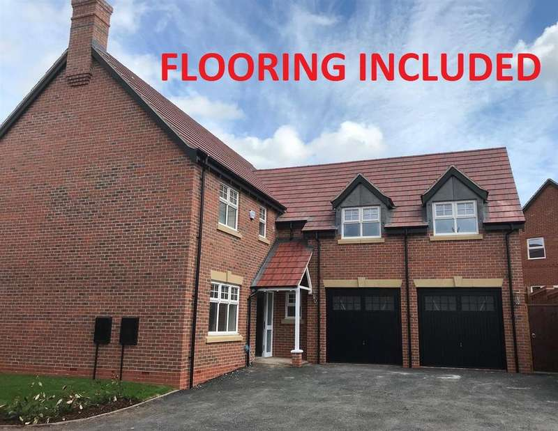 5 Bedrooms Detached House for sale in Woodstone Meadow, Heather Lane, Ravenstone, Leicestershire