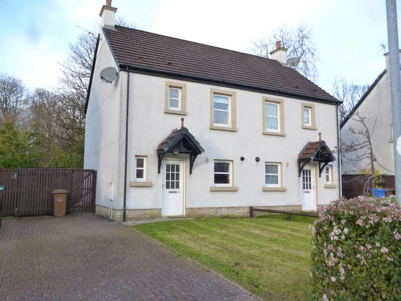 3 Bedrooms Semi Detached House for sale in 21 Noddleburn Meadow, LARGS, KA30 8UD