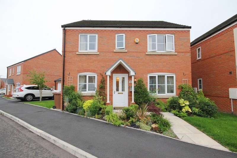 4 Bedrooms Detached House for sale in Garston Crescent, Newton-le-Willows, WA12