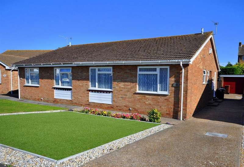 2 Bedrooms Semi Detached Bungalow for sale in Tolkien Road, Eastbourne