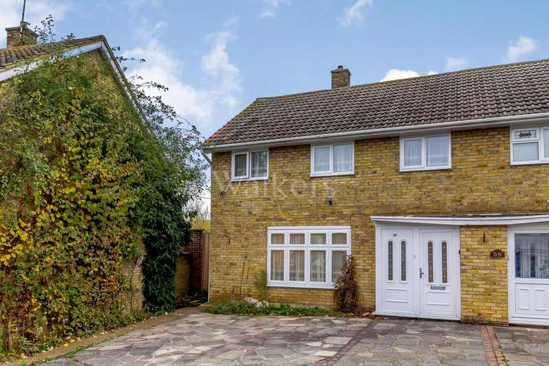4 Bedrooms Semi Detached House for sale in The Upway, Basildon
