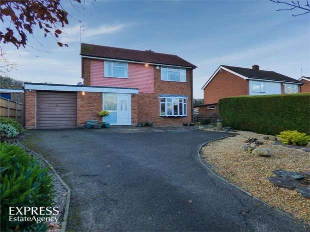 4 Bedrooms Detached House for sale in Talwrn Road, Legacy, Rhostyllen, Wrexham