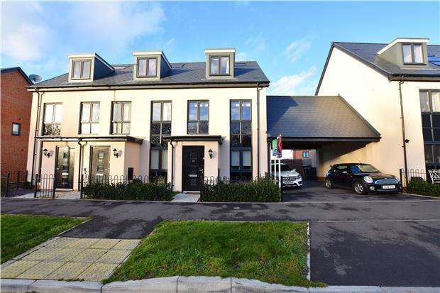 3 Bedrooms Town House for sale in Amber Road, Bishops Cleeve GL52