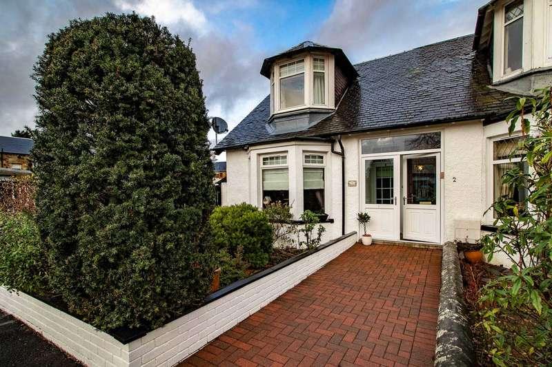 2 Bedrooms End Of Terrace House for sale in Harvey Cottages, Muirhead Street, Lochwinnoch