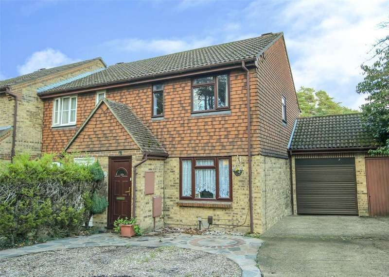 3 Bedrooms End Of Terrace House for sale in Mendip Road, Forest Park, Bracknell, Berkshire, RG12