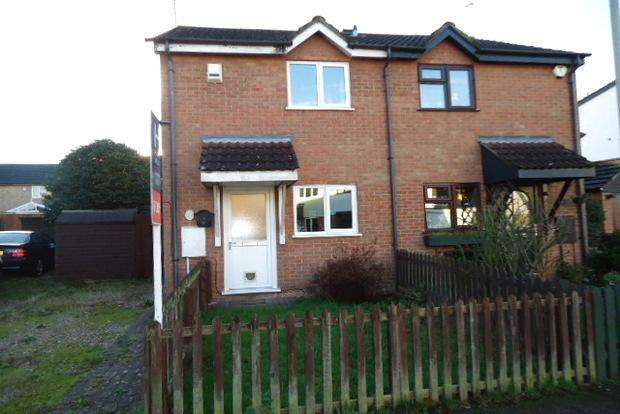 2 Bedrooms Semi Detached House for sale in Grampian Close, Aylestone Park, Leicester, LE2