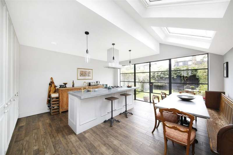 5 Bedrooms Terraced House for sale in Ulverscroft Road, East Dulwich, London, SE22