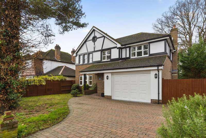 5 Bedrooms Detached House for sale in 1A Upfield, Horley