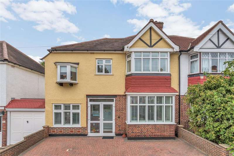 4 Bedrooms Semi Detached House for sale in Anglesey Court Road, Carshalton, SM5