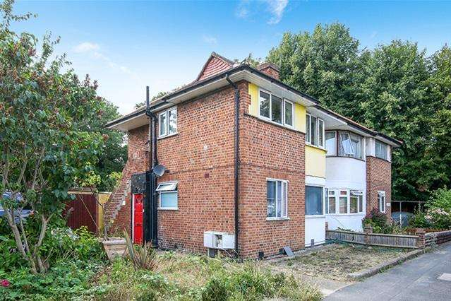 2 Bedrooms Maisonette Flat for sale in Runnymede, Colliers wood