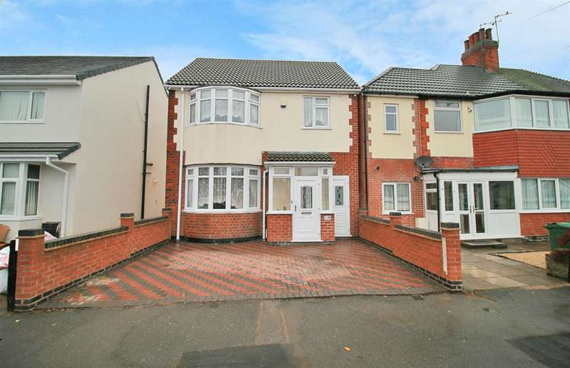 4 Bedrooms Detached House for sale in Maple Road, Leicester
