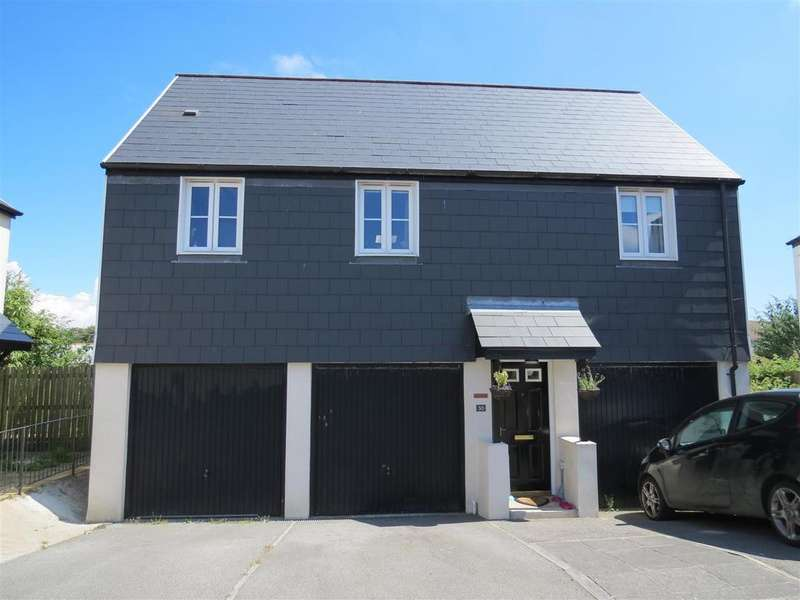 2 Bedrooms Apartment Flat for sale in Goonbarrow Meadow, Bugle, St. Austell